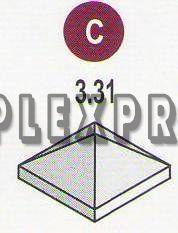 Крышка квадратная 3.31 (110х400х400)