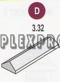 Крышка прямоугольная 3.32 (90х610х300)