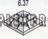 Крышка  квадратная 6.37  (200х400х400)